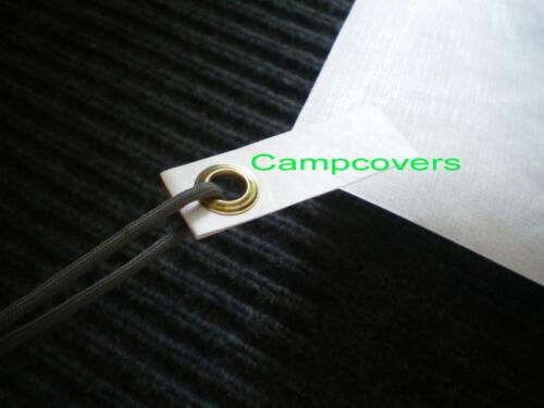 Tyvek Ground Cloth Feuille Tente Empreinte 52X90 dans Avec 6 Ultralight Oeillet onglets