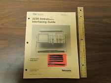 Tektronix 2230 Instrument Interfacing Guide 070-5757-00
