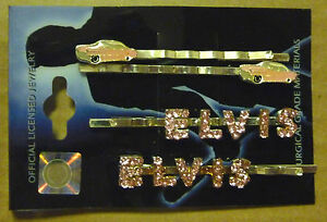 Elvis-Hair-Pins-7-Diff-Graceland-Records-Pink-Caddy-Love-Me-Tender-All-Shook-Up