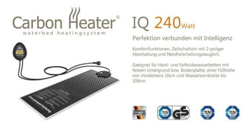Wasserbett Heizung Carbon Heater IQ Digital 240W Energiespar Wasserbettheizung