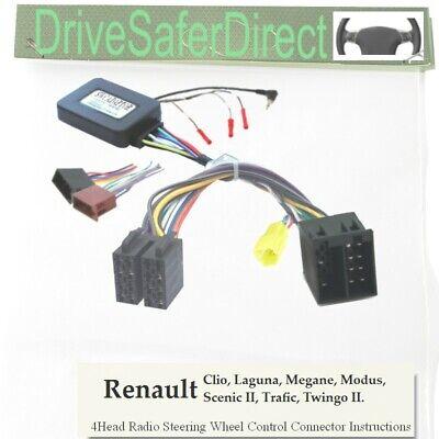 II 2005-2008 CAN BUS Interfaz de control de dirección swc Renault Megane