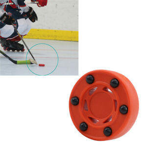 Universal-ABS-Orange-Ice-Inline-Training-Durable-Roller-Hockey-Anti-Roll-n