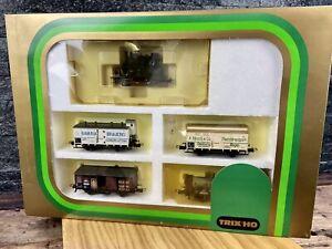 Trix HO/H0 - 21218 - DR Tenderlok BR 98 + 4 Wagon Train Set - 'K.P.E.V.'