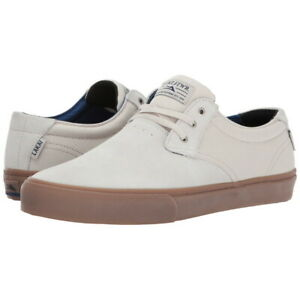 Lakai-Shoes-Daly-White-Suede-Gum-USA-SIZE-Skateboard-Sneakers