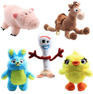 Toy-Story-4-Plush-Doll-Forky-Ducky-Horse-Bunny-Woody-Buzz-Soft-Stuffed-Kids-Gift