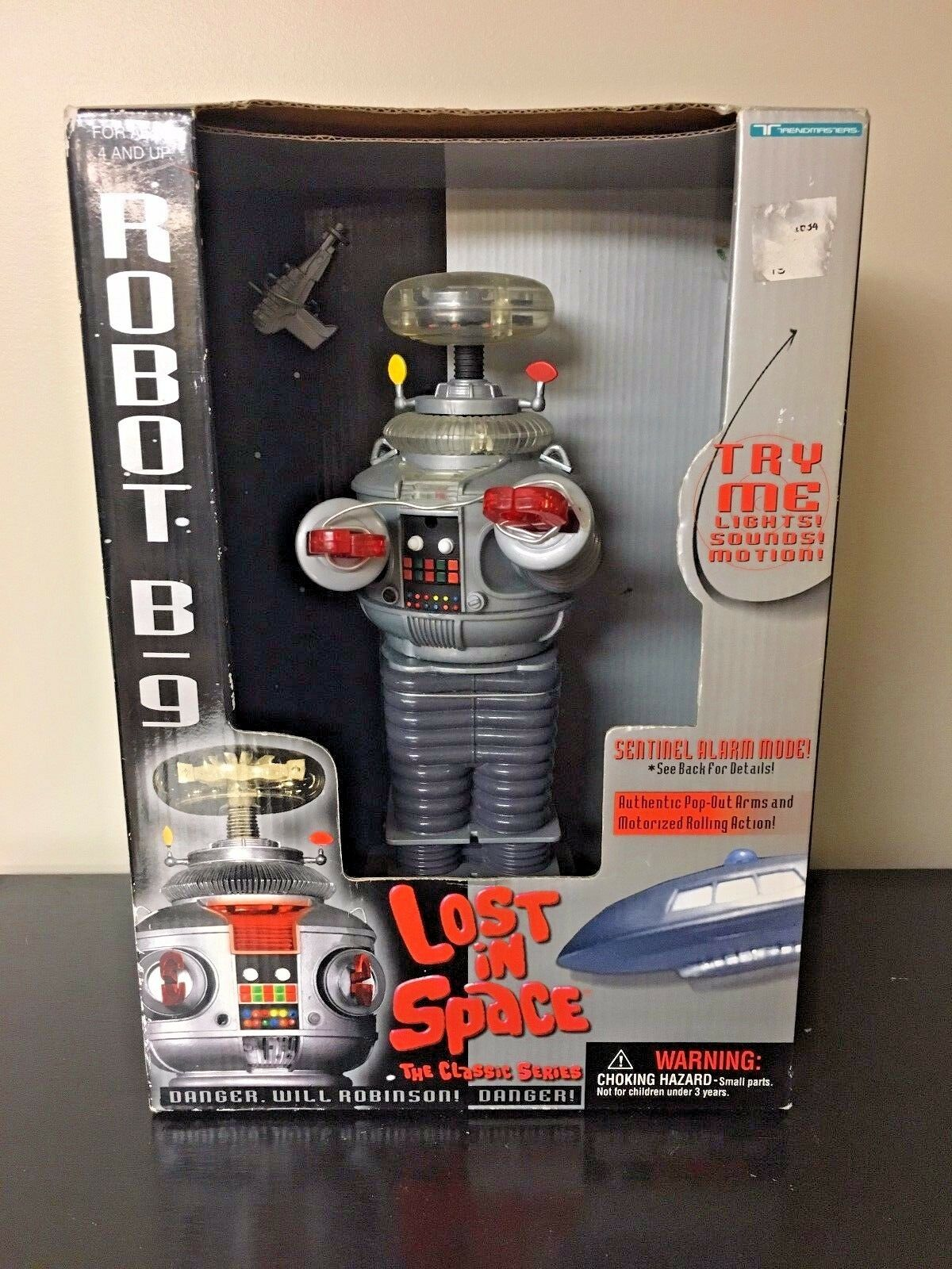 Vintage VTG Lost in Space Robot B-9 Small 7  Collector Edition Brand New NOS NIB