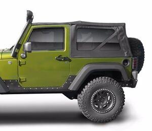 Jeep Wrangler Replacement Soft Top >> Smittybilt Oem Replacement Soft Top W Tint 07 09 2dr Jeep Wrangler