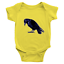 Infant-Baby-Rib-Bodysuit-Jumpsuit-Romper-Clothes-Beautiful-Black-Crow-Raven-Bird thumbnail 21
