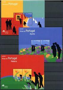 Le-Portugal-Acores-Madere-3-CEPT-Les-blocs-de-2004-cachet-Neuf-sans-charniere-o5192