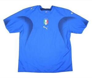 ITALIA 2006-07 ORIGINALE Maglietta (OTTIMO) XL soccer jersey