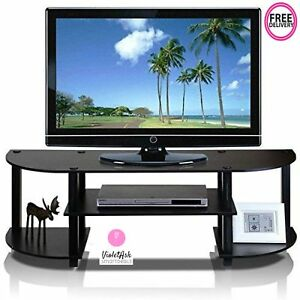 Tv Stand For Flat Screens 40 Inch Wide Storage Media Console Table