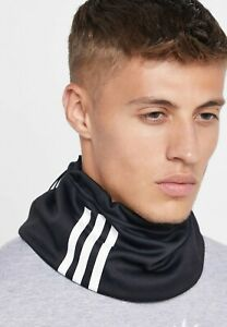 Adidas-TIRO-Clima-warm-Fleece-Turtle-039-s-Neck-Warmer-Running-Sports-Black-DY1990