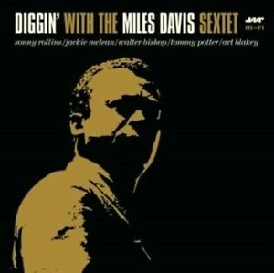 Davis-Miles-Diggin-with-the-Miles-Davis-Sextet-180-Gram-New-Vinyl