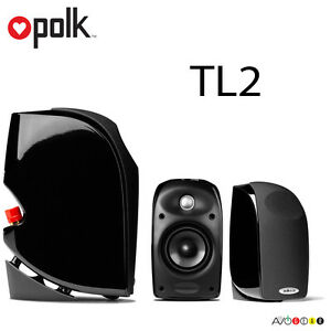 Polk-Audio-Blackstone-TL2-Satellite-Speaker-1-Speaker-Black-Brand-New