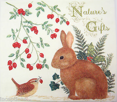 Alice/'s Cottage Cotton Scented Spiced Mug Mat Coaster Bunny Nature/'s Gifts NEW