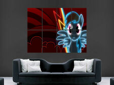 MY LITTLE PONY RAINBOW DASH  ART WALL LARGE IMAGE GIANT POSTER HUGE