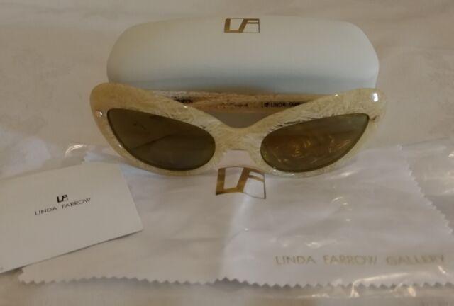 ef581513c8b Linda Farrow Mathew Williamson Mw 108 3 Mirrored Sunglasses for sale ...