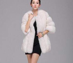 manteau luxe fourrure de dames Parka Outwear manteau pour chaud femmes Manteau d'hiver longue pour en 5wzqxwUY