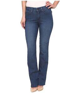a8d646217ba NYDJ Not Your Daughter Jeans BILLIE Mini Bootcut medium blue Yucca 4 ...