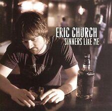 Eric Church - Sinners Like Me [ CD] FAST SHIP