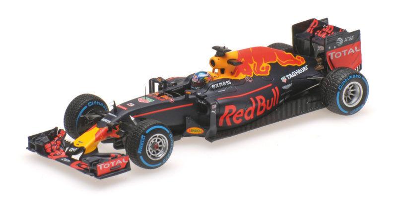 rojo Bull Tag Heuer rb12 Daniel Ricciardo Brazilian gp 2016 formula 1 1 43 Model