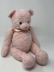 Baby-Gund-Pink-My-First-Teddy-Plush-Bear-5836-17-034-Soft-Stuffed-Animal-Toy