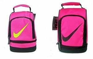 8b6f733b87b4 Nike Insulated Dome Lunch Box Tote School Bag Girls Pink New NWT