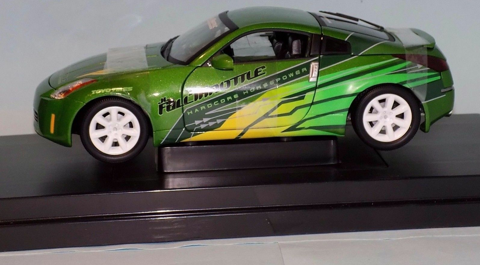 NISSAN 350Z FAST FAST AND FURIUS 2003 ERTL 53608D 1 18