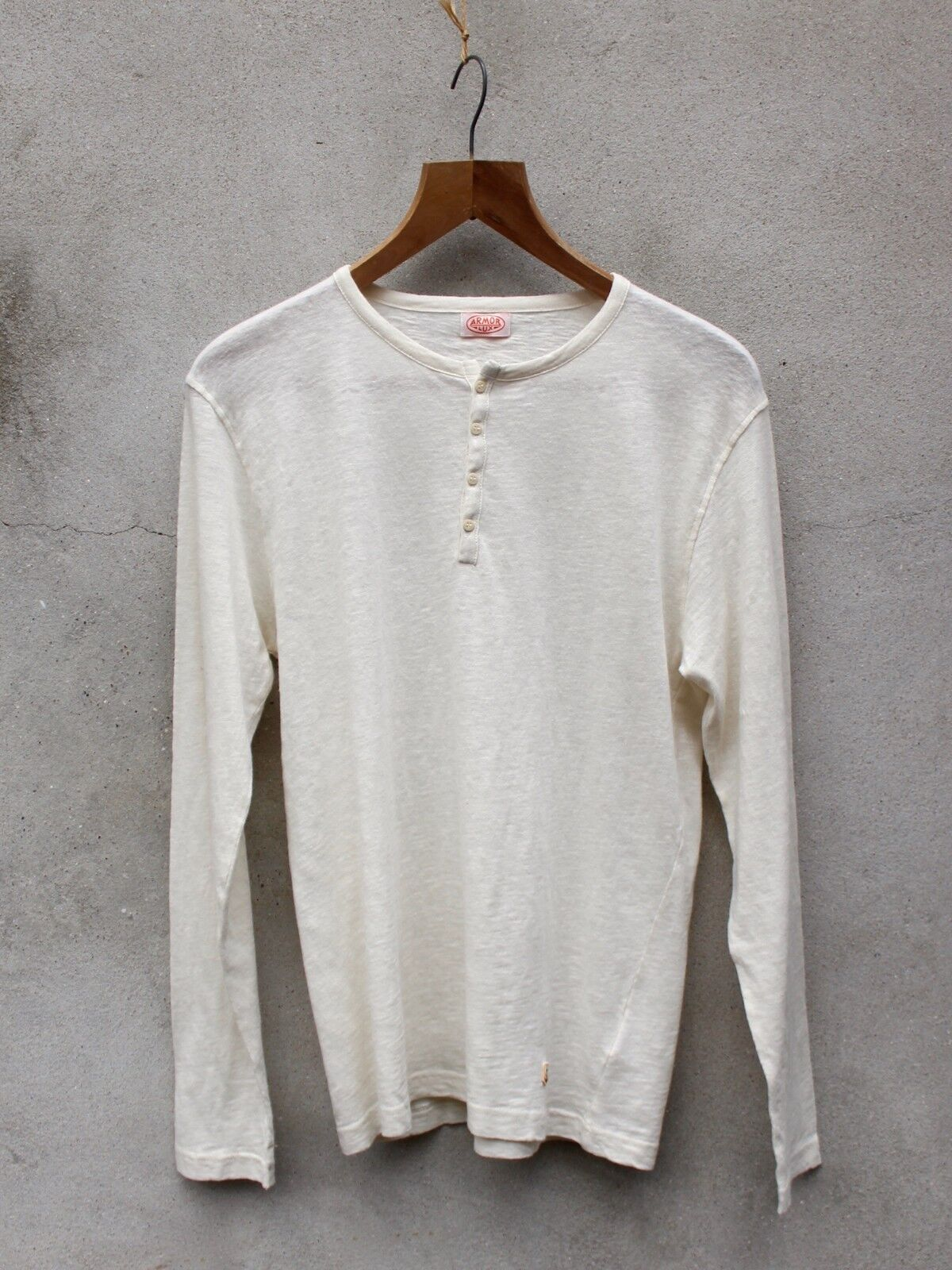 Grandfather Top by Armor-lux - 100% Linen   Cotton - Made in France