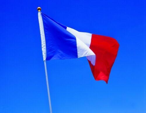 Wave France Republic Banner Indoor Outdoor Hot Large Flag Polyester 60X 90 CM
