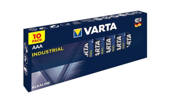 40 x Varta Pro Industrial 4003 AAA LR03 MN2400 Micro Alkaline Batterie 1,5V