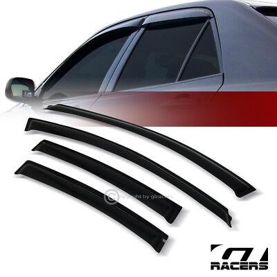 Topline For 2011-2014 Chevy Cruze Sun Rain Guard Vent Shade Window Visors 4pc