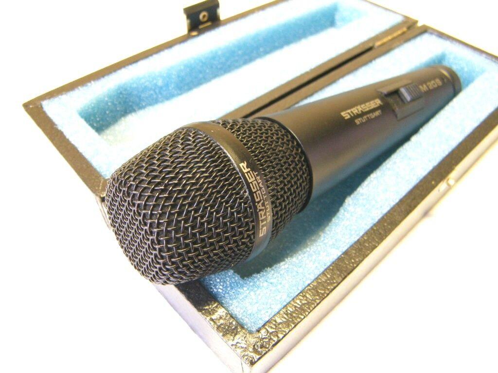 Strasser Sennheiser M20 dynamic microphone