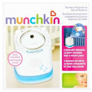 Munchkin Nursery Projector And Sound System Baby Soother Mk0038