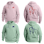 PERSONALISED Adults Kids EQUESTRIAN Hoody eventing Horse Riding Show Jump Girls