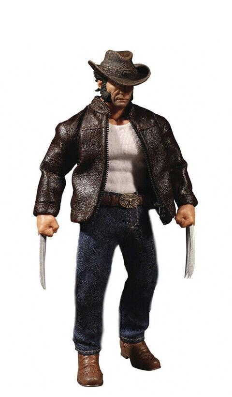 One  12 Marvel Logan Wirkung Figure Wolverine Mezco Spielzeugz Collective NEW in Box