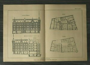 GFA-Blatt-Staedtisches-Geschaeftshaus-1926-Architektur-Werner-Issel-Grundriss