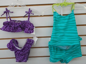ed1f42c79f885 Infant   Toddler Girls Baby Gap Assorted 2pc Swimsuits Sizes 12 18M ...