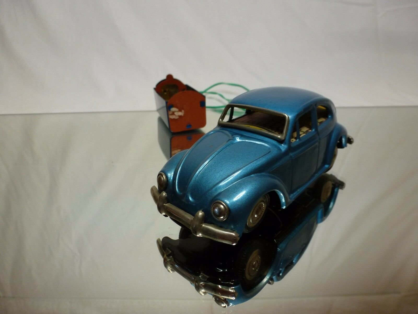 JAPAN TIN TOY BLECH VW VOLKSWAGEN BEETLE BEETLE BEETLE - RC - GOOD CONDITION 0c9385