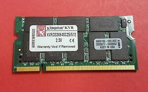 Kingston-KVR333X64SC25-512-512MB-PC2700-CL2-5-SODIMM-DDR-laptop-Memory