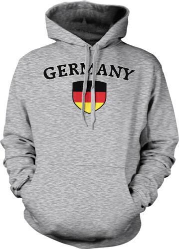 Deutschland German Pride  Hoodie Pullover Germany Country Flag Crest