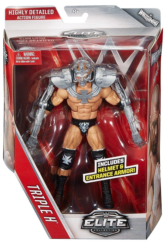 WWE Triple H Elite Series 42 Mattel Wrestling Action Figure New Sealed