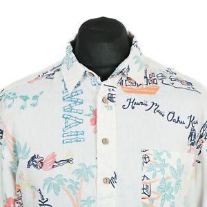 selezione premium 605d1 d97d7 Dettagli su H&M Camicia Hawaiana Pullover   Retrò Vintage Aloha modello  Crazy Stampa Grafica- mostra il titolo originale