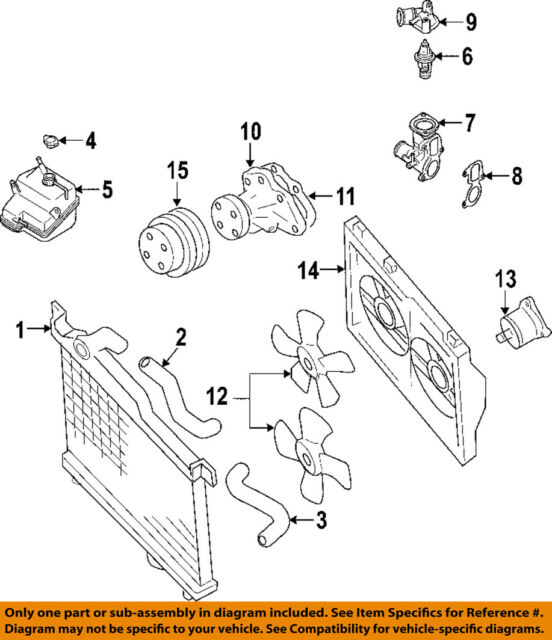 mazda oem 09 11 rx 8 radiator cooling fan motor n3r115150 ebay rh ebay com RX-8 Radiator Replacement RX-8 Radiator Replacement