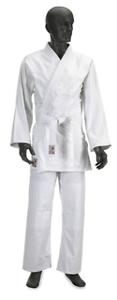 Judo-gi 00 120 cm cotone candeggiato CORSPORT arti marziali kimono judo karate