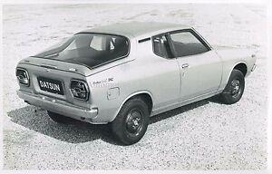 Auto & Motorrad: Teile 1971 Datsun Cherry 120a Fii Coupe Pressebild Pressphoto Persfoto **original** Um Jeden Preis