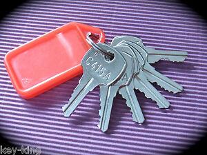 AMI ROWE Jukebox Cabinet Master Key Set 6 Key Set-Suits Many Models-Free Post