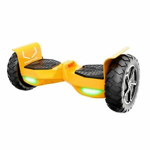 Swagtron T6 Off-Road Hoverboard Bluetooth Self Balancing Scooter UL2272 Orange