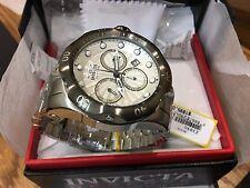 23890 Invicta Men's 52mm Venom Quartz Chronograph Stainless Steel Bracelet Watch