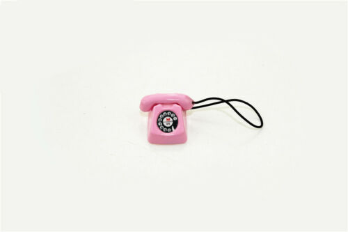 1:12 Scale BJD mini Home wired telephone Dollhouse Miniature Toy Doll FREE SHIPP